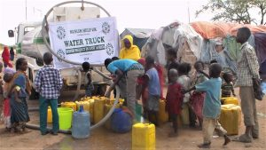 WATER TRUCK IN SOMALIA